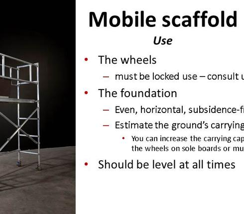 Scaffold builder course 4
