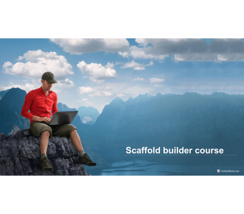 Scaffold builder course