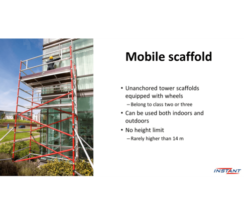 Scaffold builder course 2