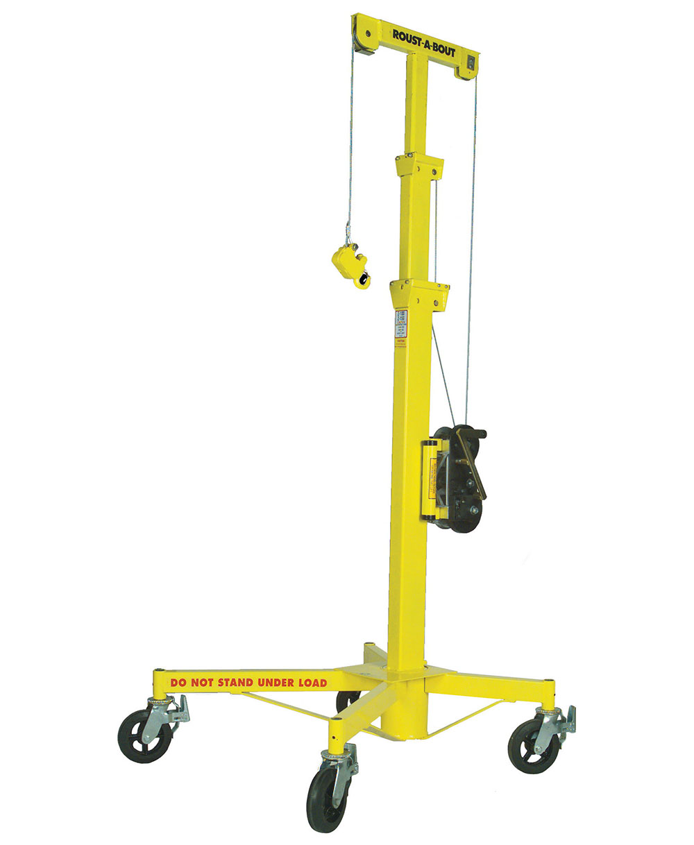 Material Lifting Jacks : Sumner roust a bout™ material lift and fab