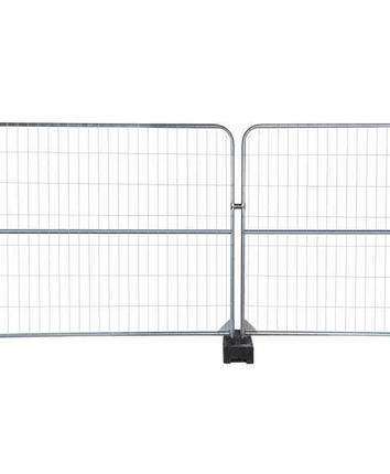 INSTANT 2 m mobile fence with extra tube 1