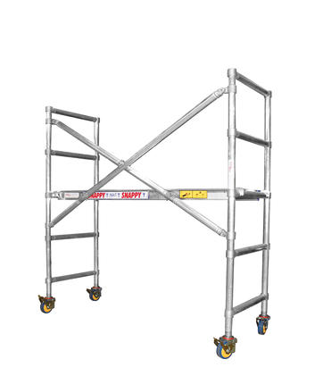 Alloy tower scaffold Instant Snappy 400  (1)